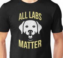 All Labs Matter Brown Yellow Black Labrador T-Shirt Unisex T-Shirt