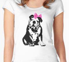 Betty Bulldog Women's Fitted Scoop T-Shirt