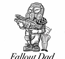 Fallout Dad (White) by LordXProduction