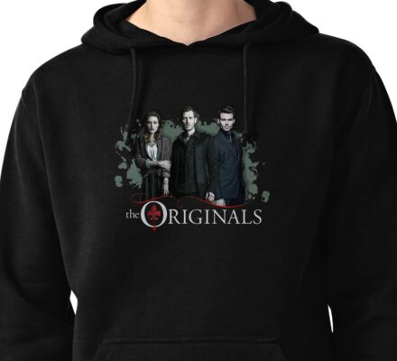 The Originals - Klaus, Hayley and Elijah  Pullover Hoodie