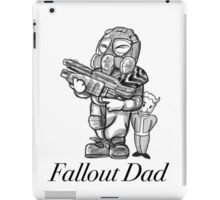 Fallout Dad (White) iPad Case/Skin