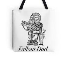 Fallout Dad (White) Tote Bag