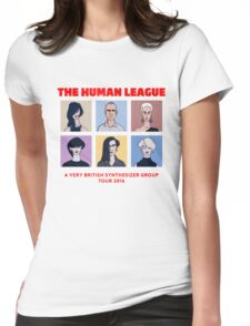 THE HUMAN LEAGUE - A VERY BRITISH SYNTHESIZER GROUP TOUR 2016 Womens Fitted T-Shirt