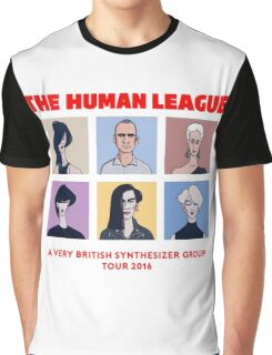 THE HUMAN LEAGUE - A VERY BRITISH SYNTHESIZER GROUP TOUR 2016 Graphic T-Shirt