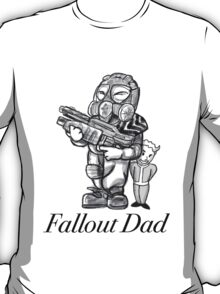 Fallout Dad (White) T-Shirt