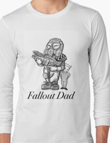 Fallout Dad (White) Long Sleeve T-Shirt