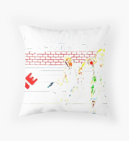 escape - the game Throw Pillow