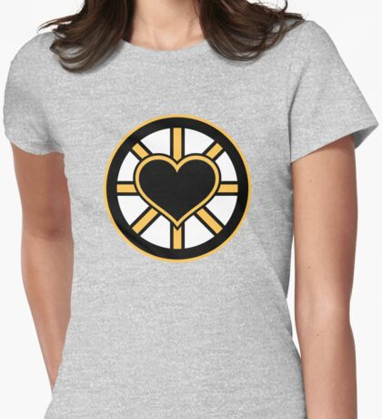 For the Love of Bruins Womens Fitted T-Shirt