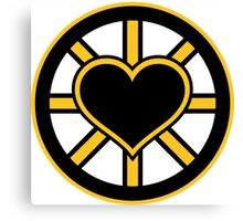 For the Love of Bruins Canvas Print