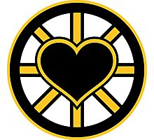 For the Love of Bruins Photographic Print