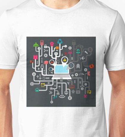Science the computer Unisex T-Shirt