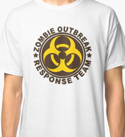 ZOMBIE OUTBREAK RESPONSE TEAM Classic T-Shirt