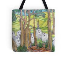 The Curious Case of the Curious Sheep of Glen Fern Farm Tote Bag