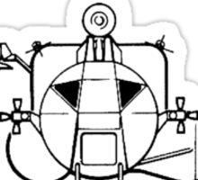 Apollo Lunar Module and Crew Sticker