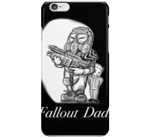 Fallout Dad (Black) iPhone Case/Skin