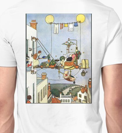 Heath Robinson, illustration, Home Comforts? W. Heath Robinson Unisex T-Shirt