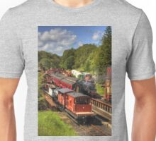 Crowds at Goathland Station Unisex T-Shirt