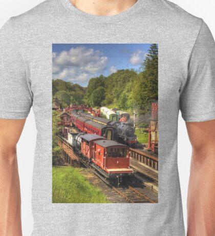Crowds at Goathland Station Unisex T-Shirt