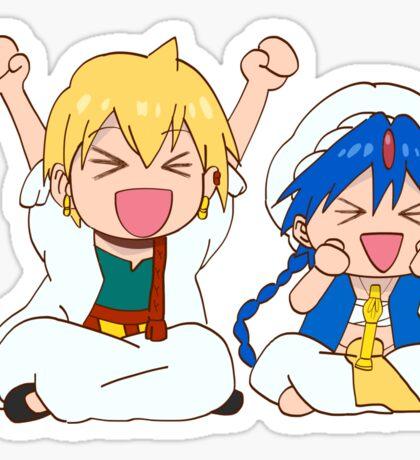 Aladdin x Alibaba chibi Sticker