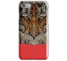 Abstract Face Tiger iPhone Case/Skin