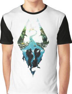 Skyrim dragonborn Graphic T-Shirt
