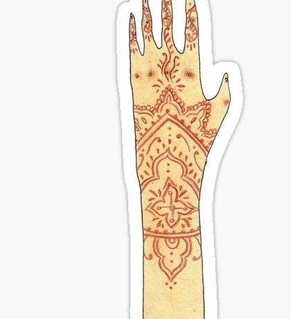 Henna Tattoo Sticker