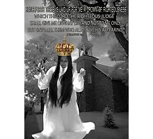 I SHALL WEAR A CROWN>>CROWN OF RIGHTEOUSNESS>> BIBLICAL>> PICTURE AND OR CARD Photographic Print