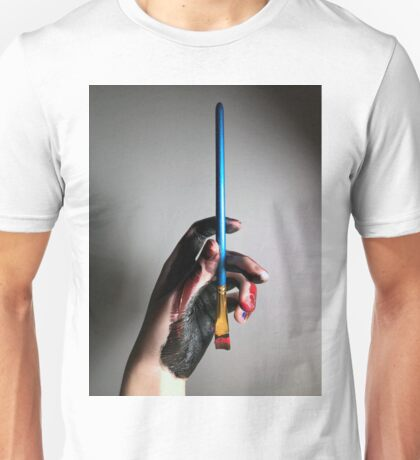 painted hand  Unisex T-Shirt
