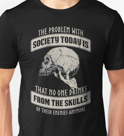 That no one drinks from the skulls christmas shirt Unisex T-Shirt