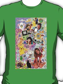 90's, childhood. T-Shirt