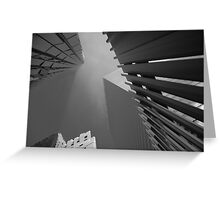 1WTC Looking Up Greeting Card