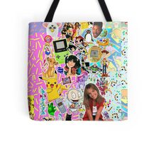 90's, childhood. Tote Bag