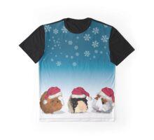 Christmas guinea pigs Graphic T-Shirt