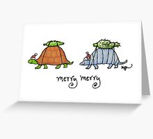Merry Merry Greeting Card