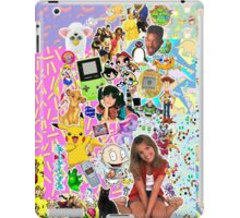 90's, childhood. iPad Case/Skin