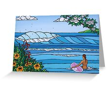 Perfect Paddle Out Greeting Card