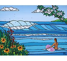 Perfect Paddle Out Photographic Print