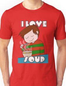 I Love Soup Unisex T-Shirt