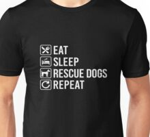 Rescue Dogs T-shirts  Unisex T-Shirt