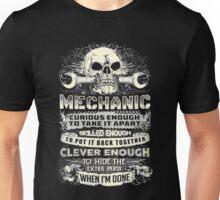 curious enough, skilled enough, clever enough Unisex T-Shirt