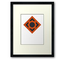 Team Bravo Framed Print