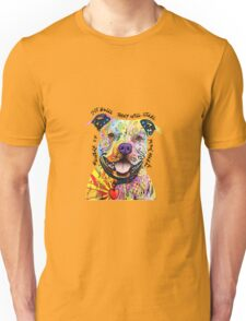 BEWARE OF PIT BULLS THEY WILL STEAL YOUR HEART Unisex T-Shirt