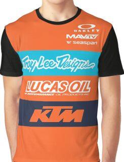 TLD Team orange Graphic T-Shirt