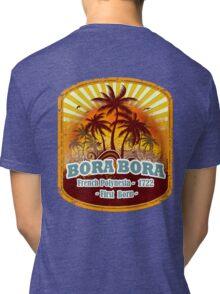 Bora Bora Sunset Paradise Tri-blend T-Shirt