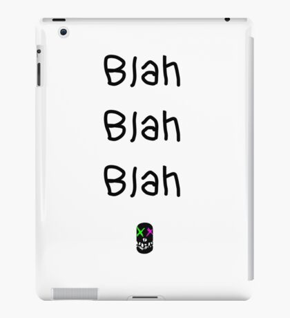 Quotes by Mr.J iPad Case/Skin