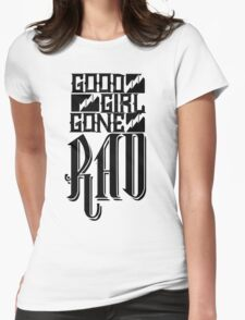 Good Girl Gone Rad Womens Fitted T-Shirt