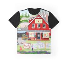 Springtime Wishes Graphic T-Shirt