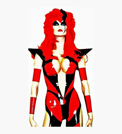 Sci-fi female character Photographic Print
