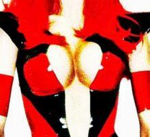 Sci-fi female character Sticker