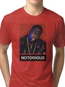 Notorious BIG - Biggie Smalls Tri-blend T-Shirt